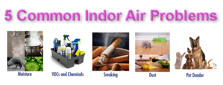 5 Common Indor Air Problems